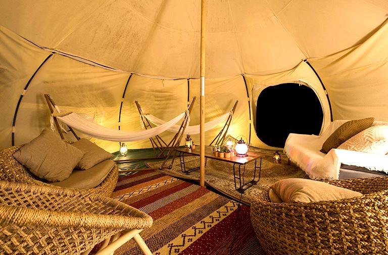 【宿泊の方限定】グランピングテントで星空観測