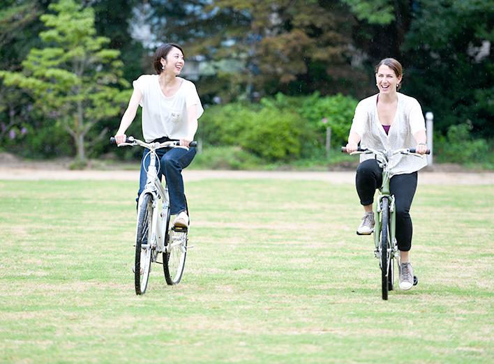 気楽に楽しむサイクリング