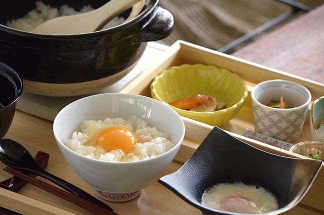 天美卵・土鍋卵かけご飯セット