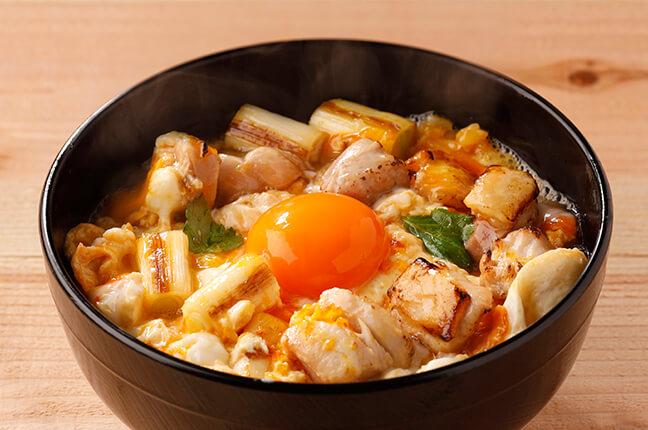 鳥取地鶏親子丼〜炙り〜